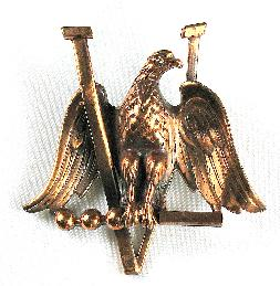 WWII World War II victory eagle pin