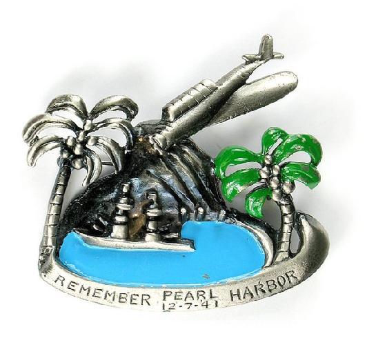 Remember Pearl Harbor Brooch